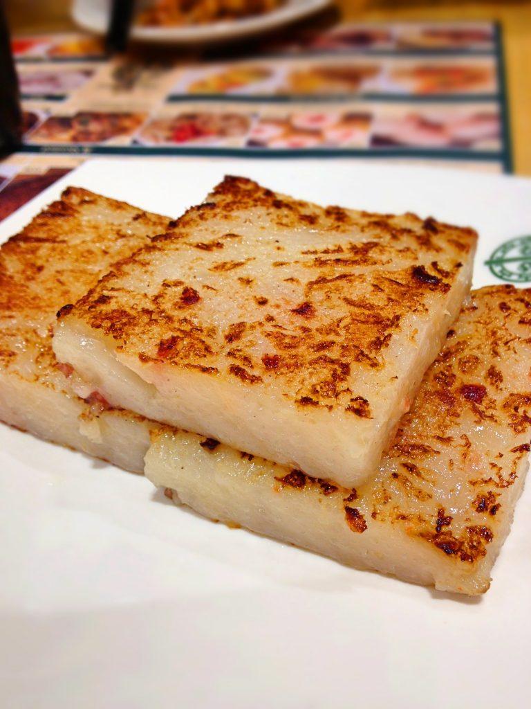 Tim ho Wan Singapore 香煎萝卜糕 Pan Fried Carrot Cake
