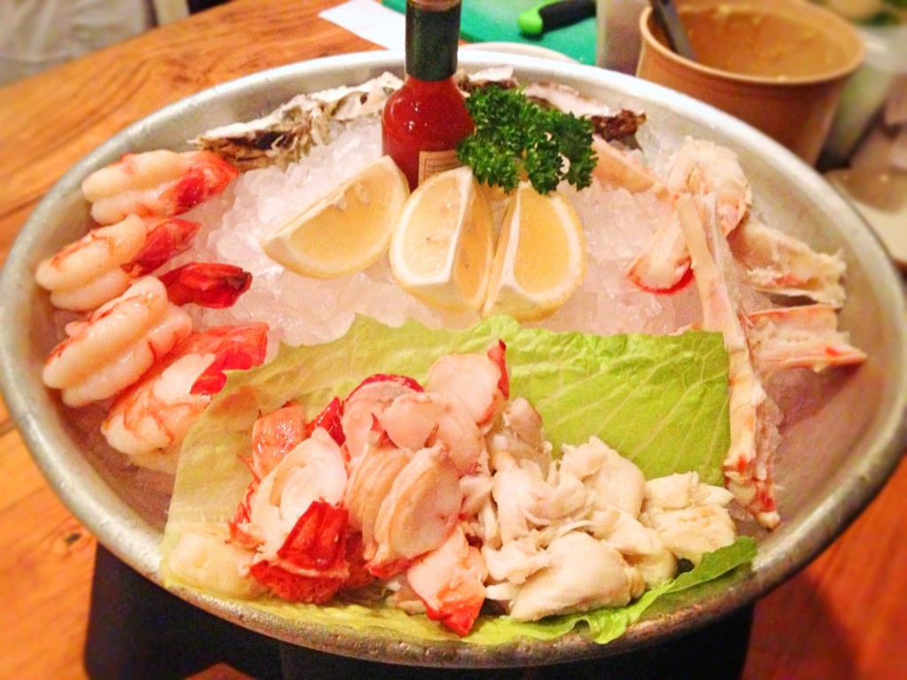 Morton's chilled seafood platter
