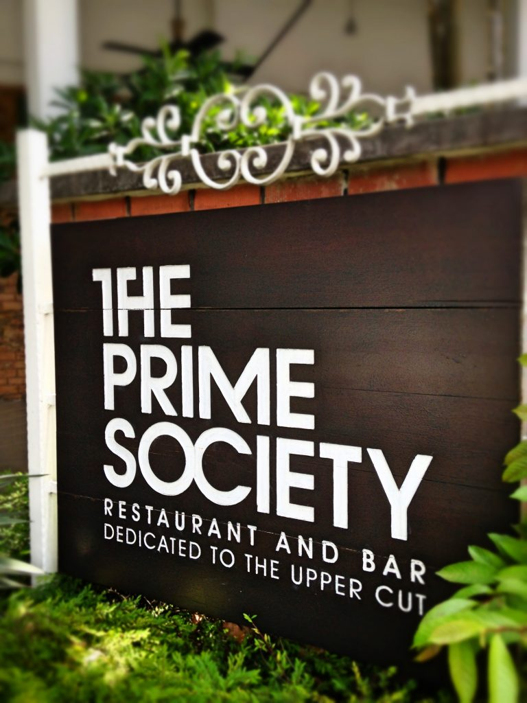 The Prime Society Signage