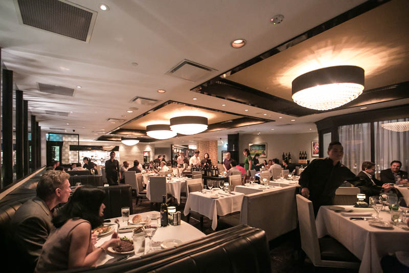mortons steakhouse singapore restaurant