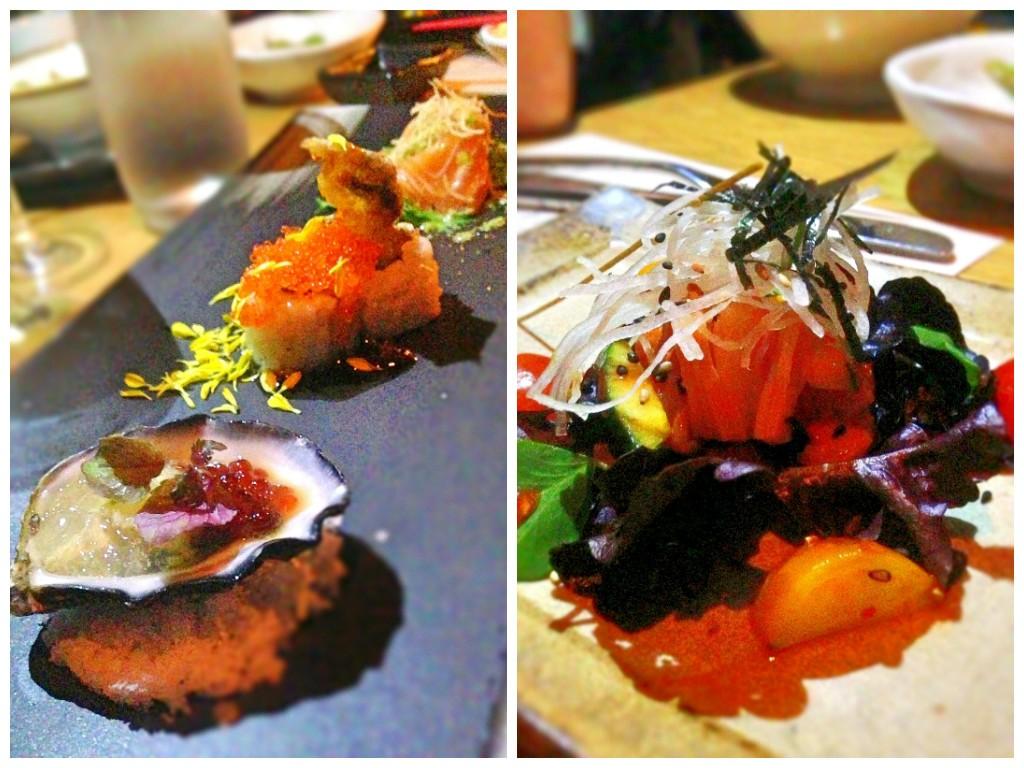 Ku De Ta Singapore Oyster and sashimi
