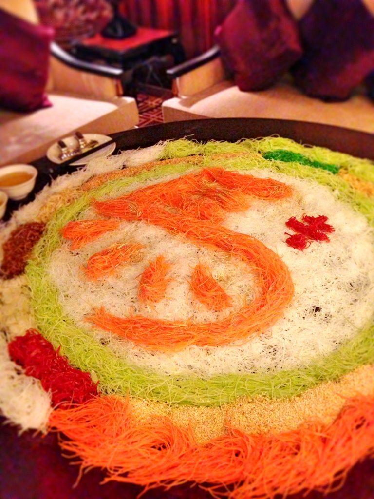 Hai Tien Lo restaurant CNY Yu Sheng 2014