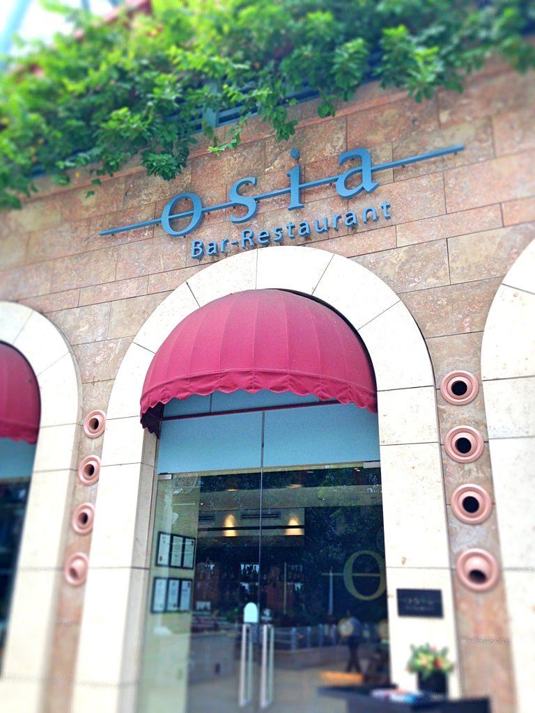 Osia restaurant Resort World Sentosa