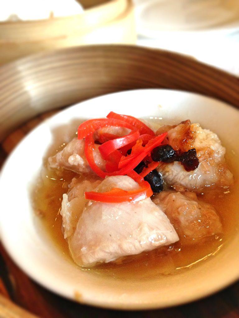 Jade pork ribs dim sum