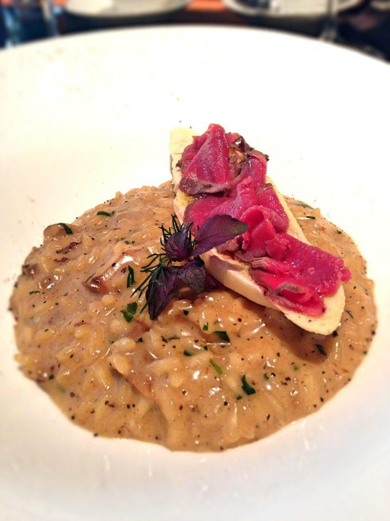 Mushroom risotto Basilico