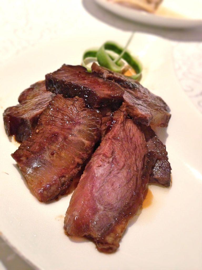 Yan Ting braised beef cheeks