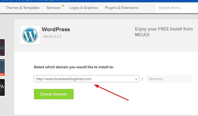 select domain