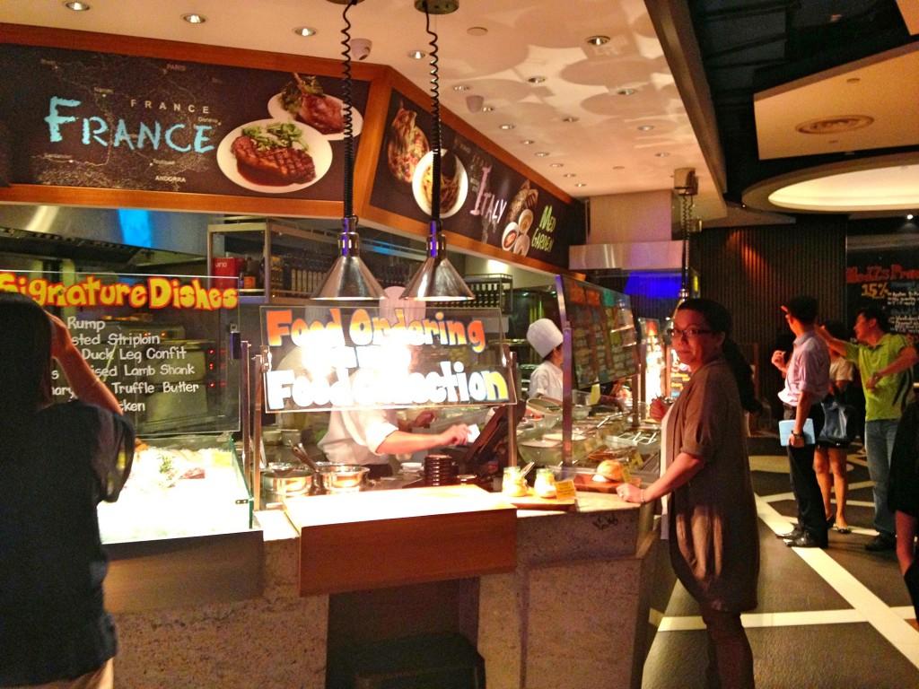 MEDZS restaurant Millenia walk