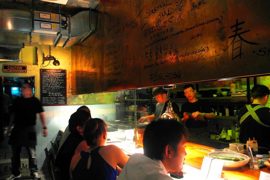 bincho hua bee singapore open kitchen