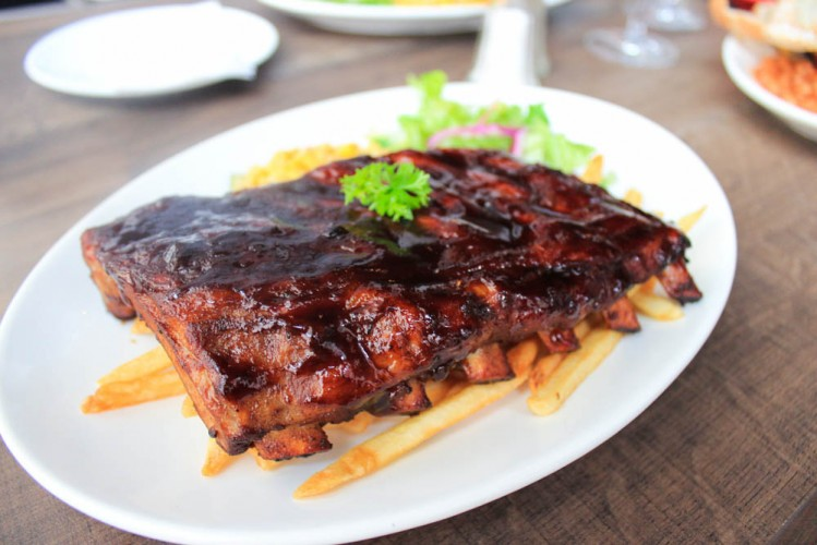 Roosevelts - baby back ribs