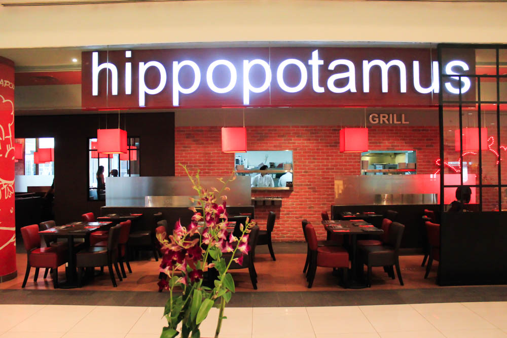 Hippopotamus restaurant grill singapore food review - Hippopotamus restaurant grill ...
