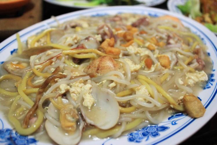 New Ubin seafood - hokkien prawn mee