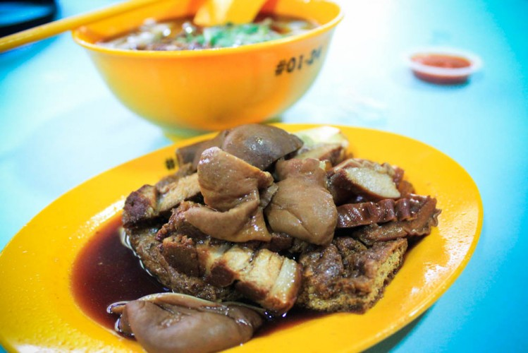 Best breakfast places singapore - kway chup
