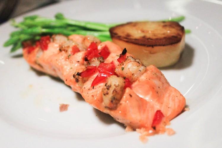 market grill - salmon