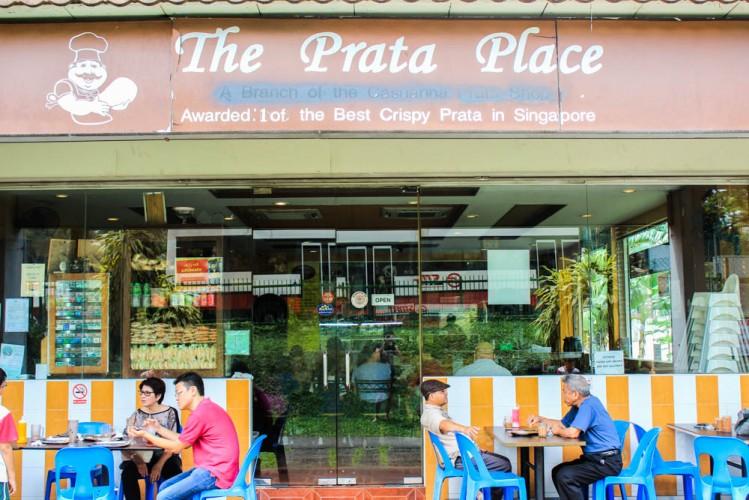 Best breakfast places singapore - prata place