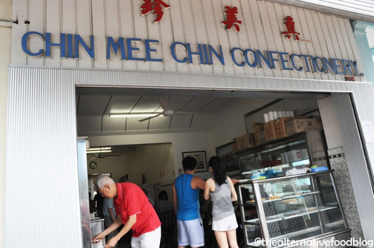 Singapore breakfast places chin mee chin