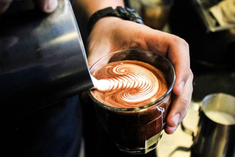 toby's estate cafe singapore - latte art