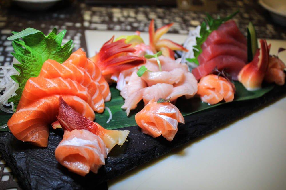 triple three - sushi platter