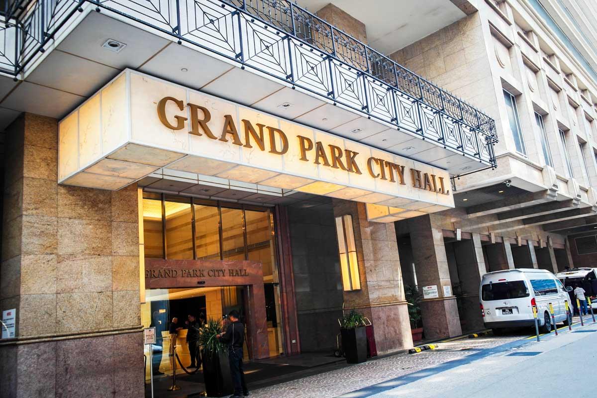 Grand park city hall singapore hotel