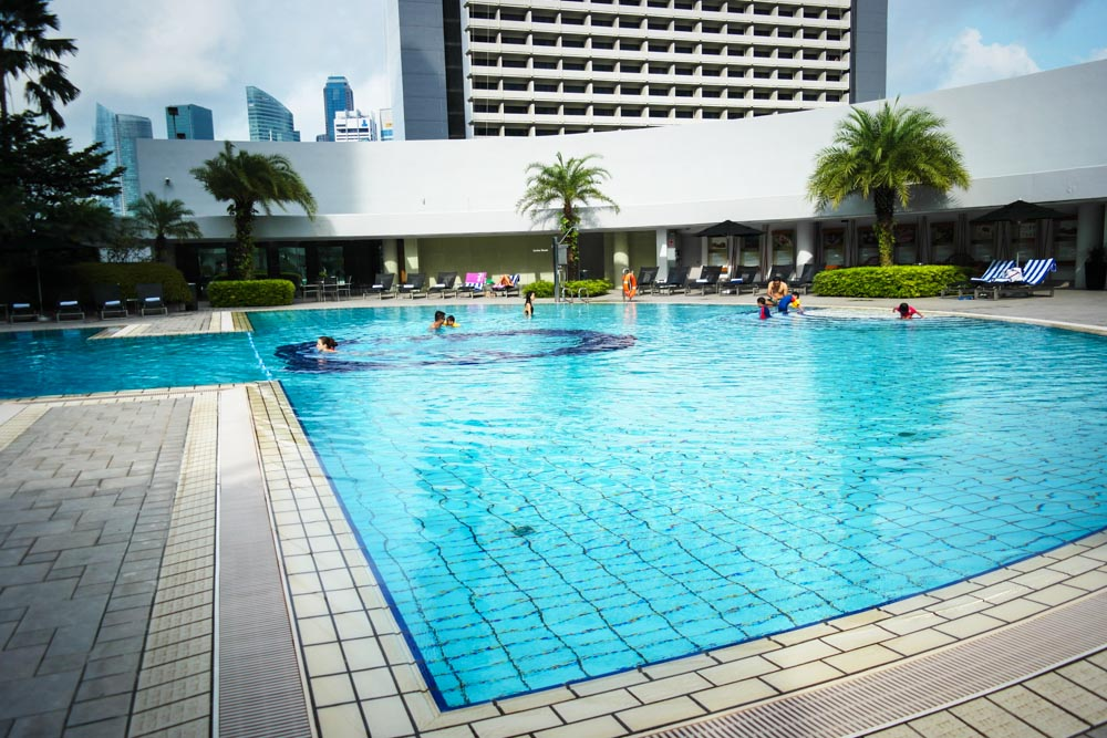 Pan pacific hotel singapore staycation review - Pan pacific orchard swimming pool ...