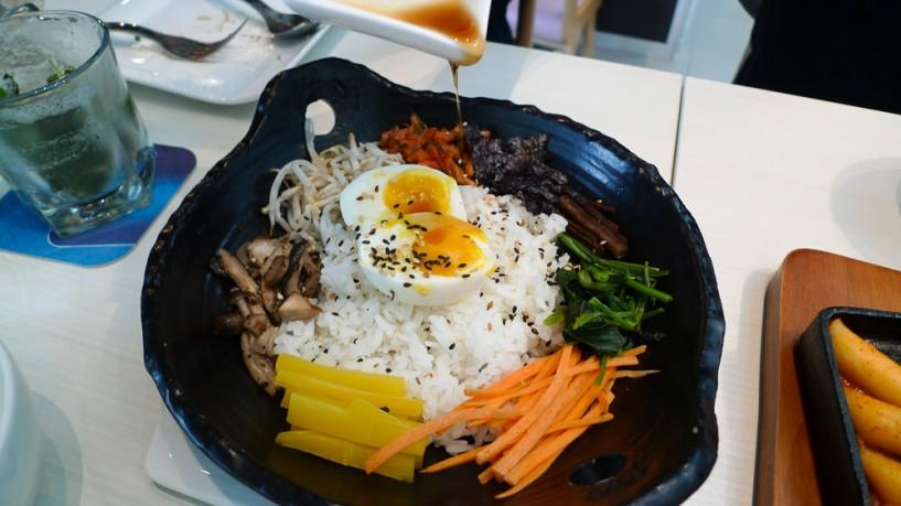 SYNC Korean fusion bistro bibimbap
