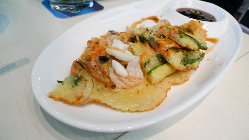 SYNC korean fusion bistro singapore pancake pajeon
