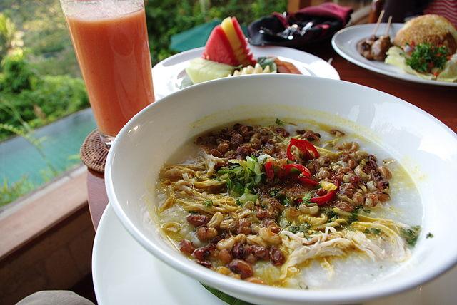 bubur ayam indonesia food