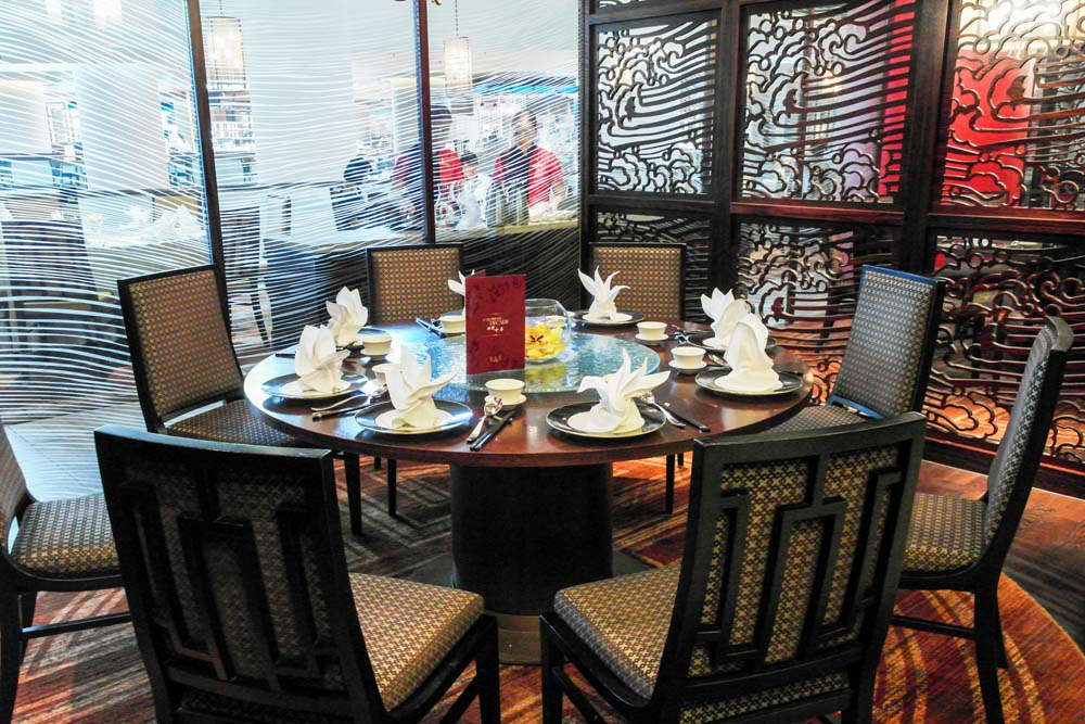 hai tien lo 大閘蟹 restaurant interior