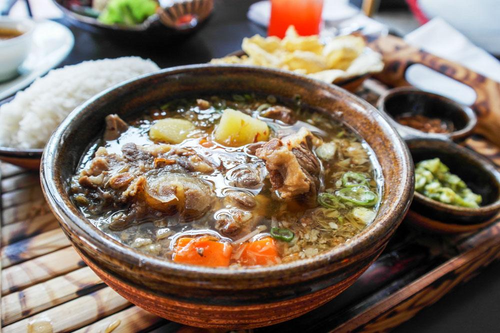 sop buntut best indonesian food jakarta