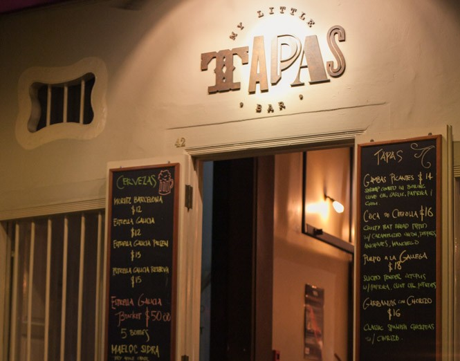 my little tapas bar club street singapore