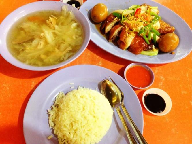 best chicken rice singapore Delicious Boneless Chicken Rice