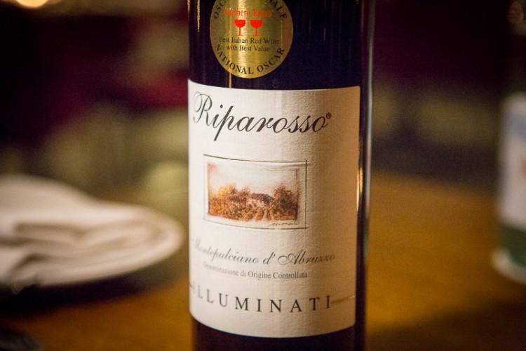 La Forketta Gastronomia Italiana (Dempsey Hill) illuminati wine