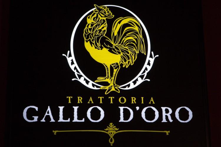 Trattoria Gallo D'Oro singapore italian restaurant