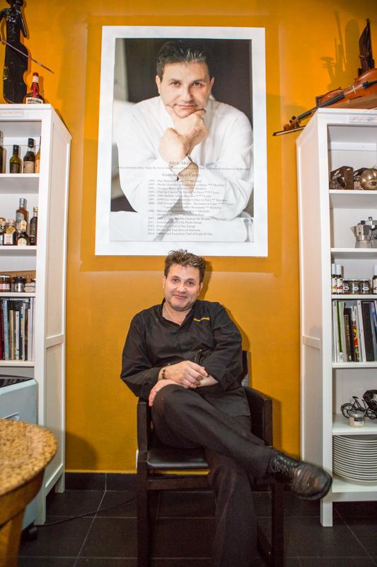 Trattoria Gallo D'Oro chef Silvio morelli