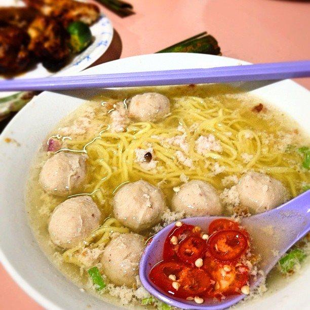 best bak chor mee soup singapore