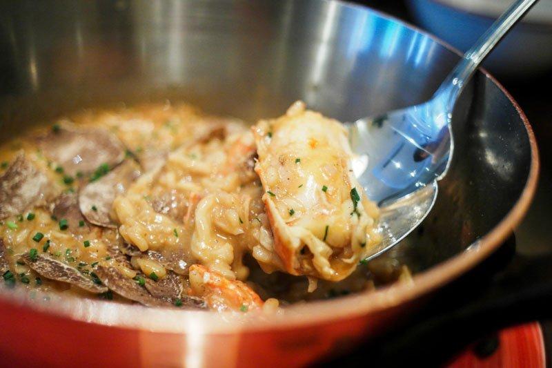 la strada King Crab risotto best italian restaurants