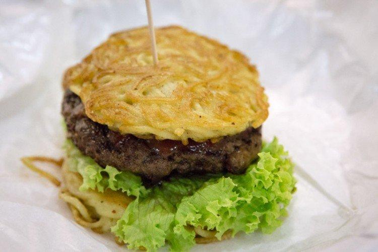 best burger singapore little hiro ramen burger