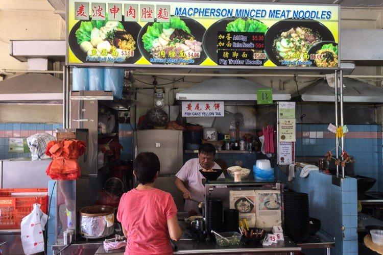macpherson minced meeat noodles bak chor mee singapore