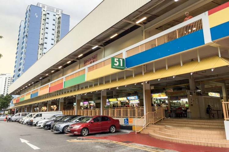 Old Airport Hawker Centre Best Food