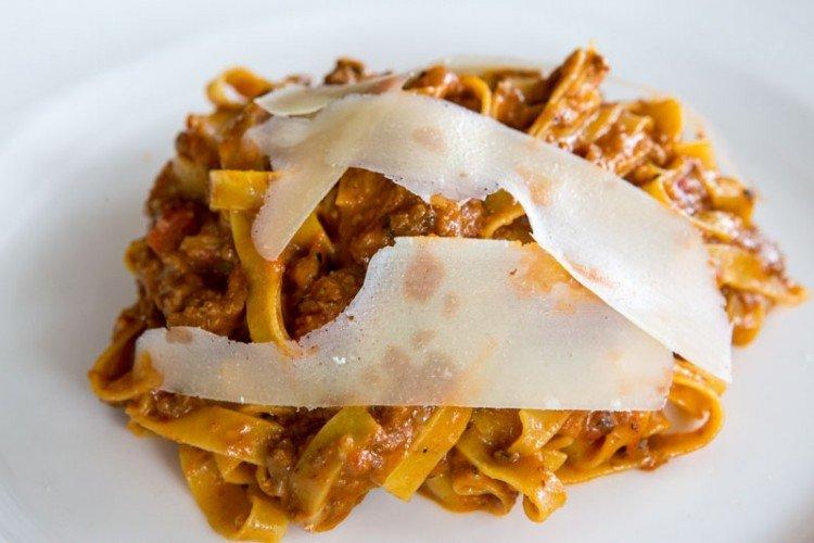 bella pasta Tagliatelle Ragu