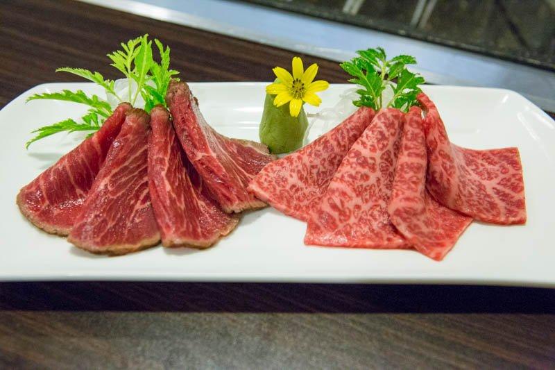 Wagyu Beef Sashimi Tataki