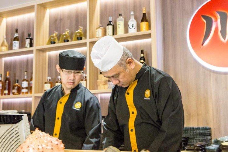 Mikawa head chef fabio singapore