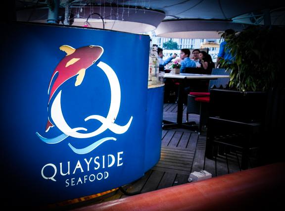 Quayside Seafood Logo singapore restaurant