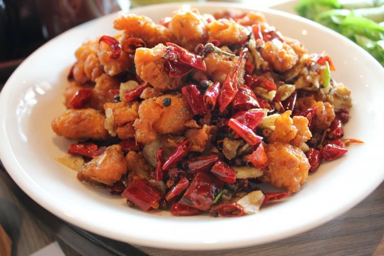 paradise dynasty Spicy Szechuan Crispy Chicken
