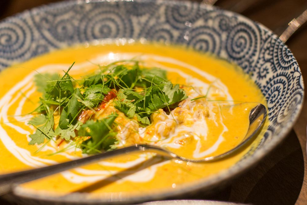 candlenut peranakan singapore Yellow Coconut Crab Curry