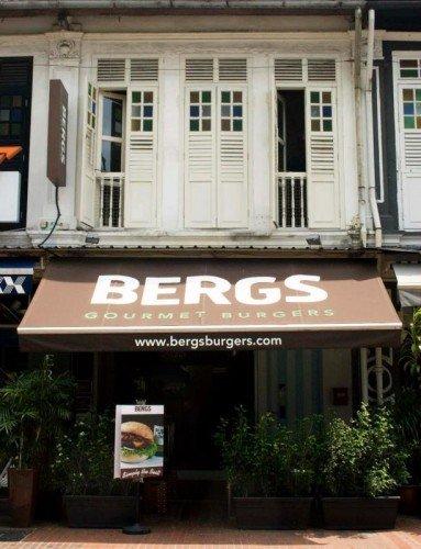 BERGs burgers katong east coast