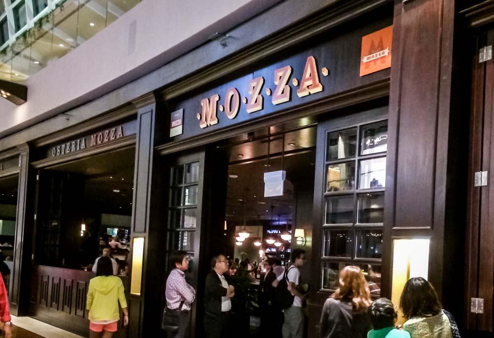 osteria mozza italian restaurant singapore