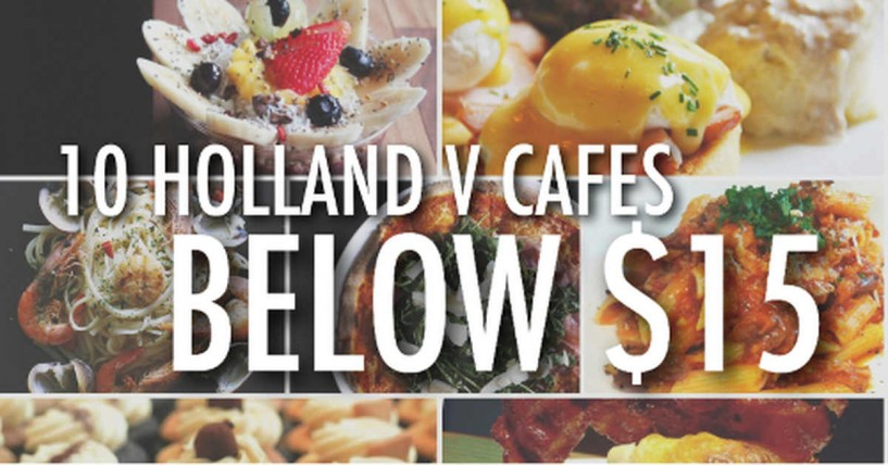 holland Village cafes below 15 in Singapore