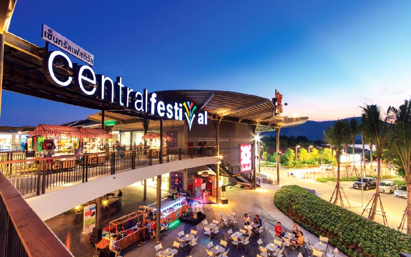 things to do kok samui central festival mall