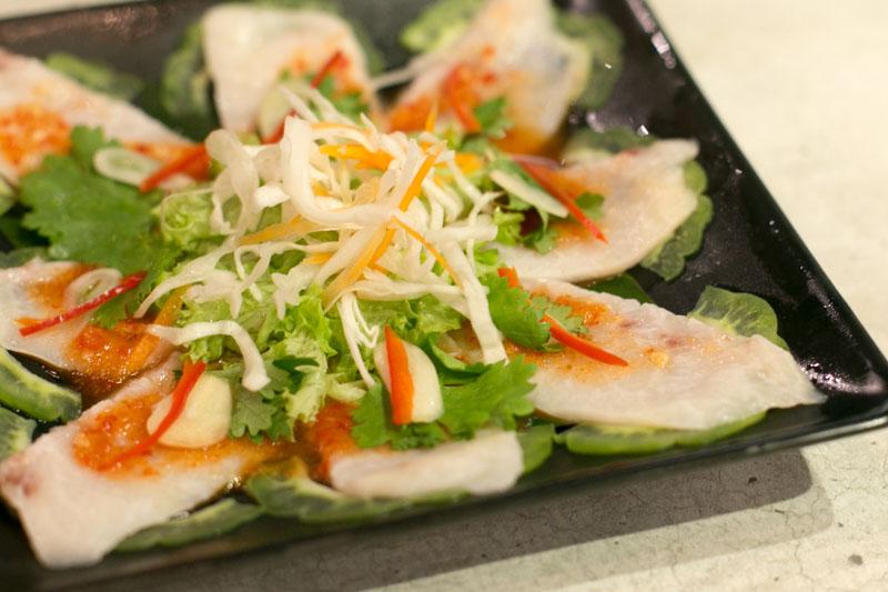 haha thai singapore swordfish sashimi
